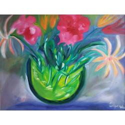 Marguerites et fleurs
