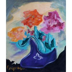 Roses dans le soulier