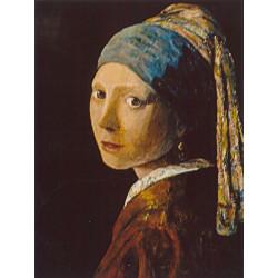 Jeune fille au turban