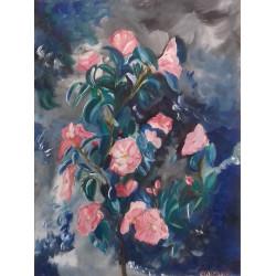 Le camélia rose